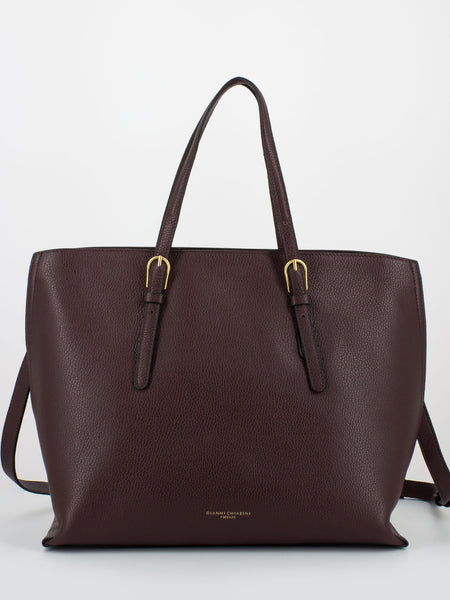 Shopper Patricia large Bordeaux