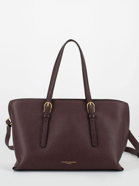 Shopper Patricia medium bordeaux