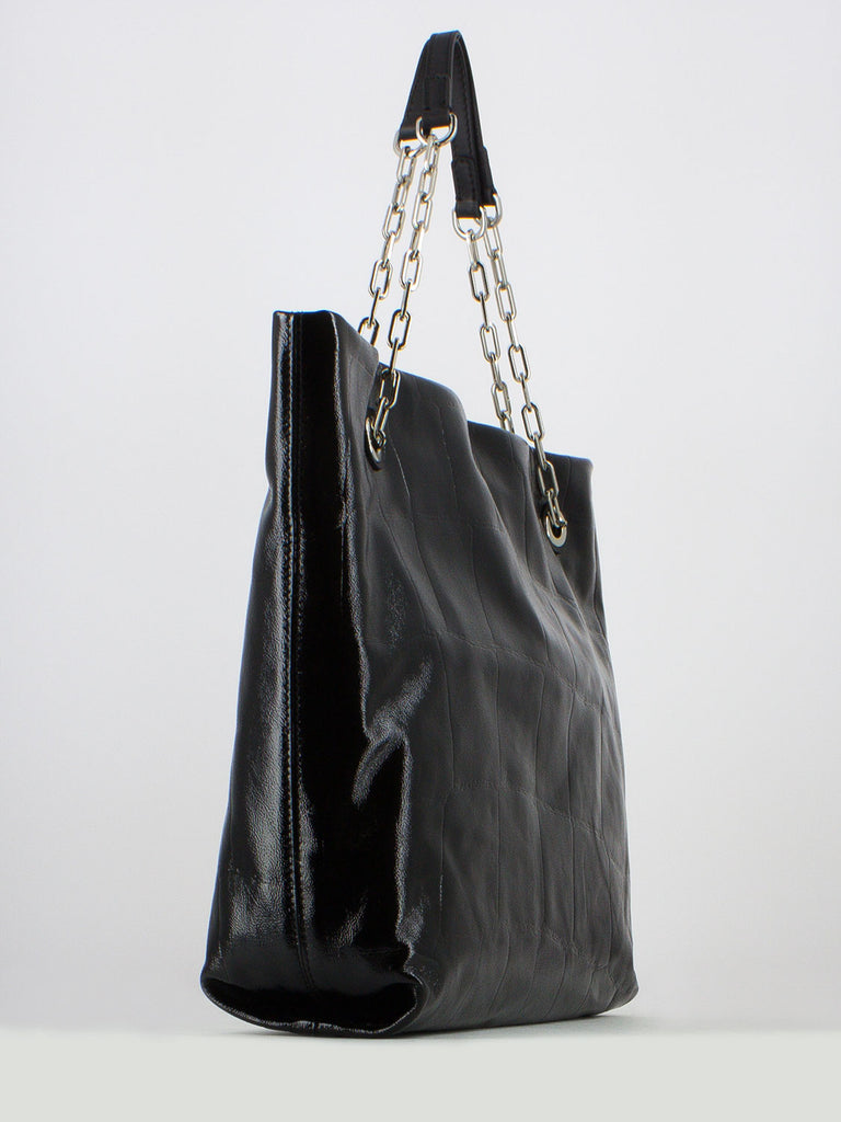 GIANNI CHIARINI - Shopping bag alice nera
