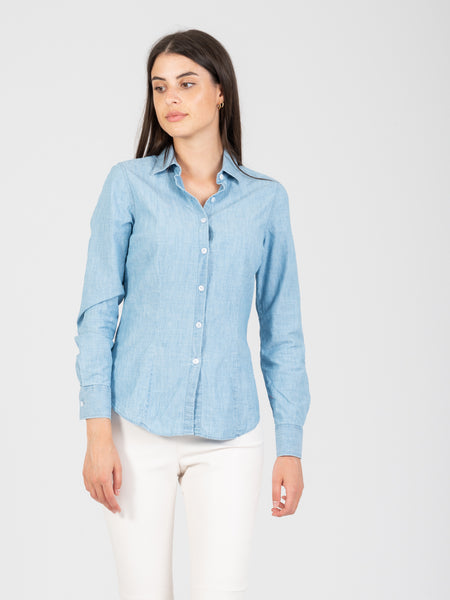 Camicia Mary chambray denim chiaro