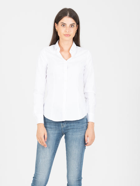 Camicia Mary oxford basic bianca