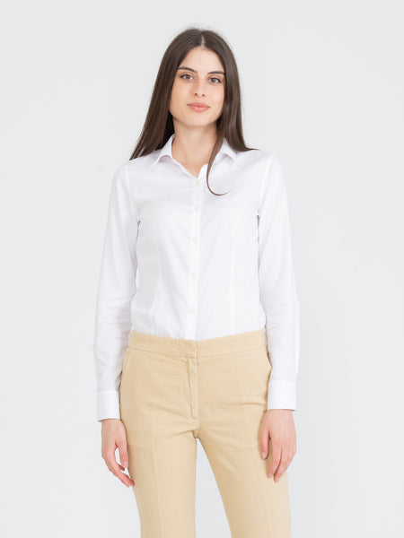 Camicia Mary oxford bianca