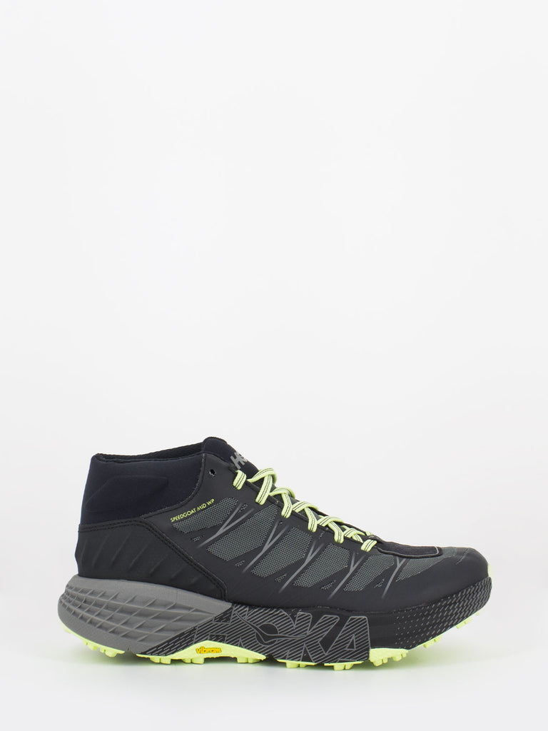 HOKA ONE ONE - Speedgoat Mid WP black / steel grey