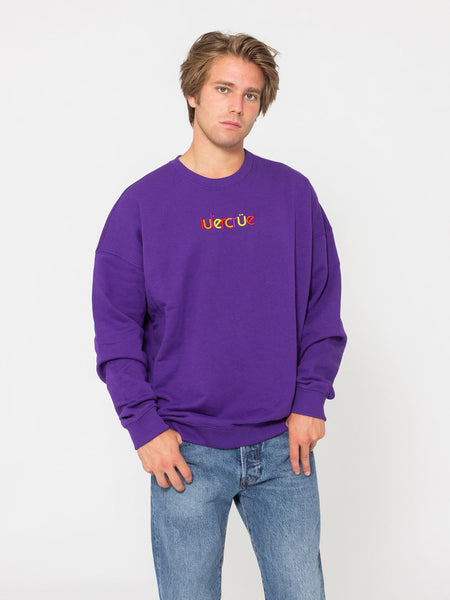 Felpa colours crew viola
