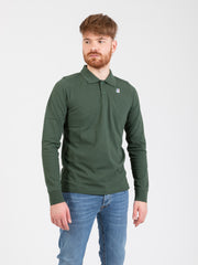K-WAY - Polo Rochel Contrast green dark forest