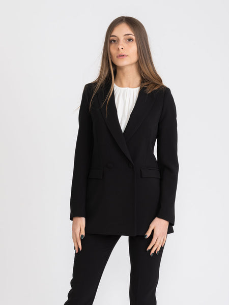 Blazer single-button nero