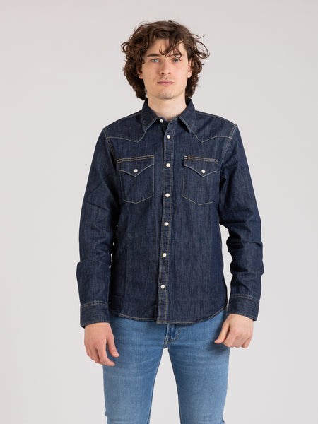Camicia western jeans blueprint