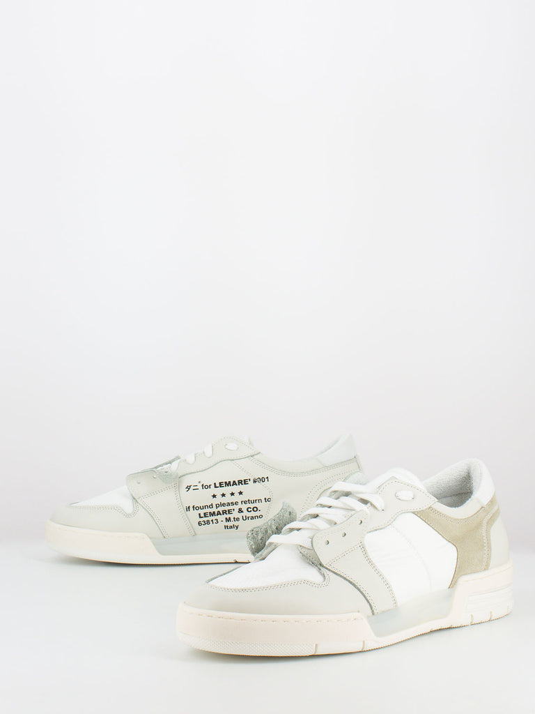 LEMARE' - Sneakers Lo-Man Blanko bianco / ice