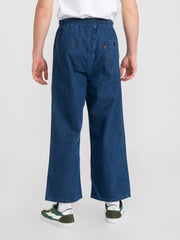 LEVI'S - 1970s orange tab sports pants denim scuro