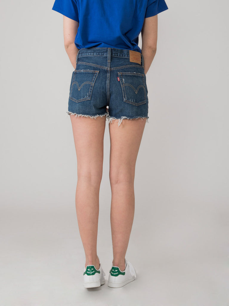 LEVI'S - 501 High Rise shorts scuri