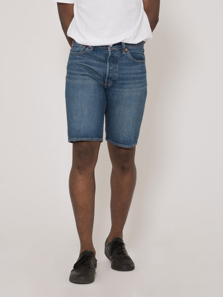 Bermuda 501 denim scuro