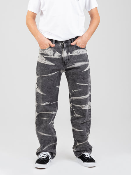 Jeans Baggy strong resistance denim grigio