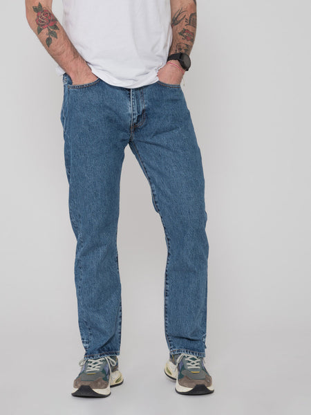 Distorted Straight jeans denim medio