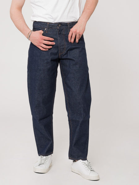 Draft taper jeans denim scuro