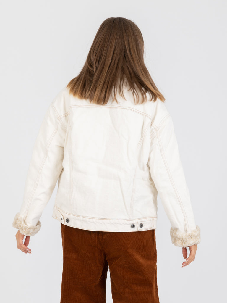 LEVI'S MADE AND CRAFTED - Giacca oversized trucker neutral