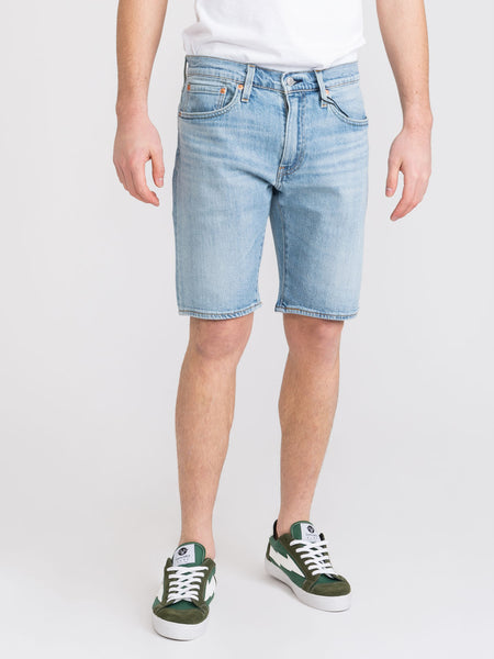 Shorts 502 taper denim chiaro