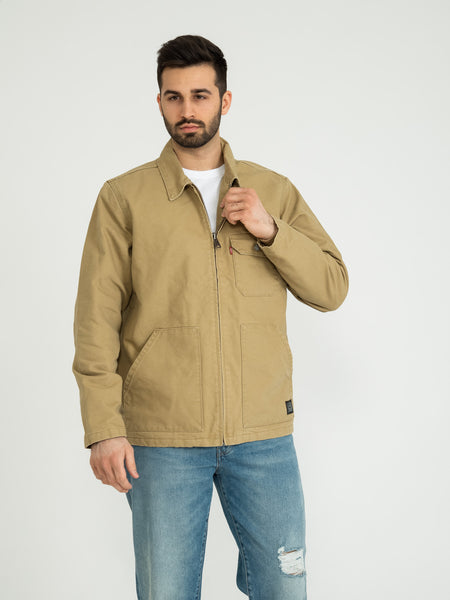 Thermore waller worker jacket harvest gold