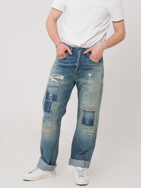 1955 501 Original fit denim medio chiaro
