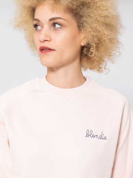 Felpa blondie soft pink