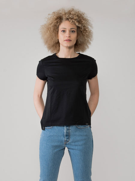 T-shirt basic Club Nomade nera