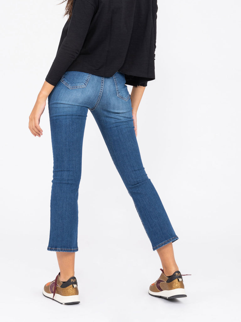 MERCI - Jeans Jen denim medio scuro