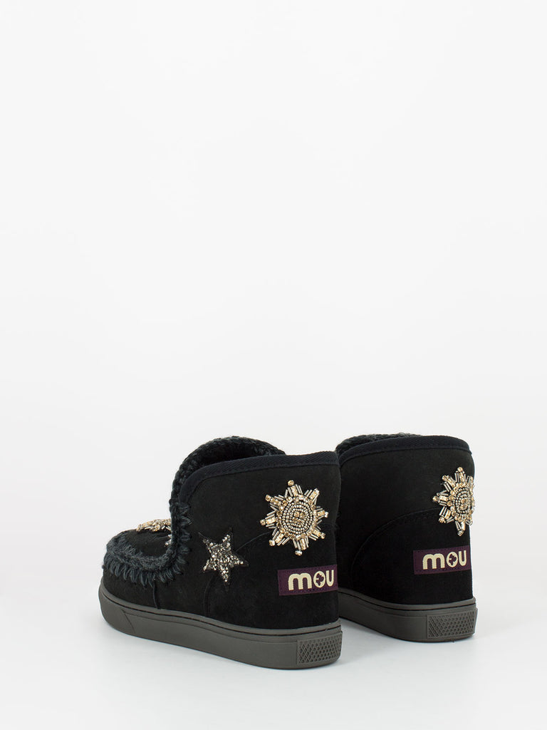MOU - Eskimo sneaker star patches neri