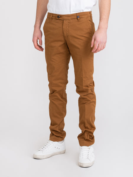 Chinos cotone washed biscotto