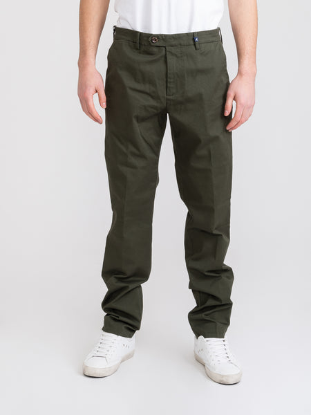Pantaloni Japan Cotton verde militare