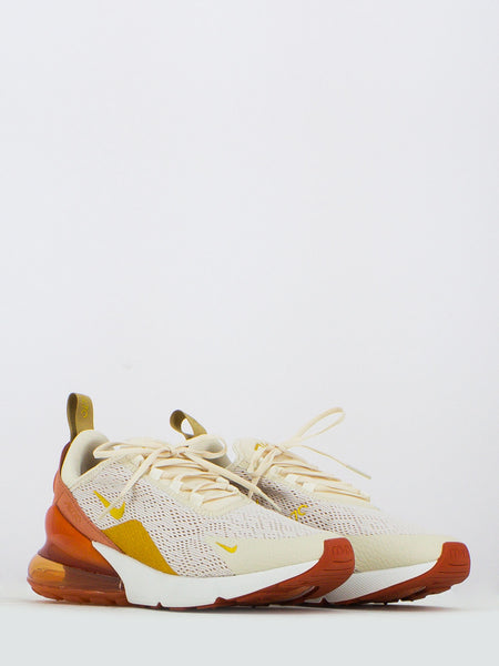 Air max 270 light cream / metallic gold