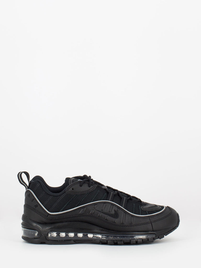 Cheap Wholesale Men's Supreme x Nike Air Max 98 Triple Black