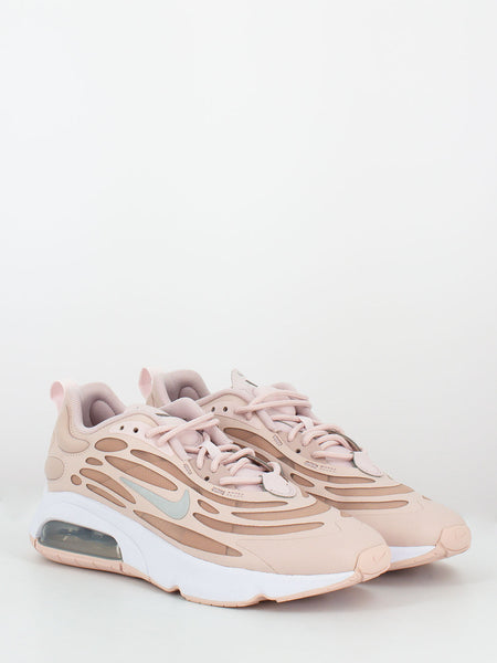 Air max exosense barely rose / stone mauve / metallic silver