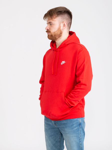 Felpa Sportsweare Club Fleece university red