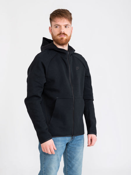 Felpa Tech Fleece nera