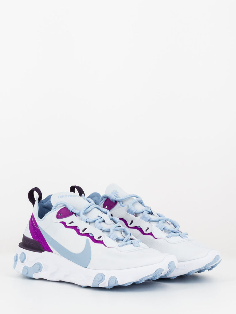 NIKE - React element 55 grey / psychic blue