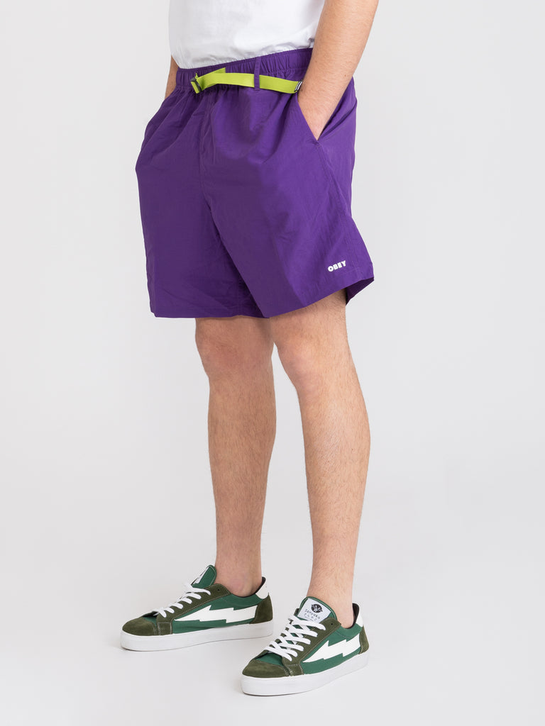 OBEY - Bermuda easy relaxed trek hero purple