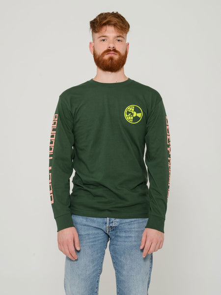 Maglia Worldwide Records forest green