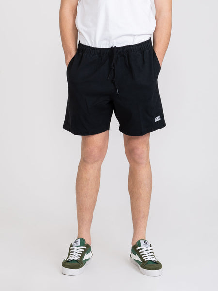 Shorts easy relaxed twill neri