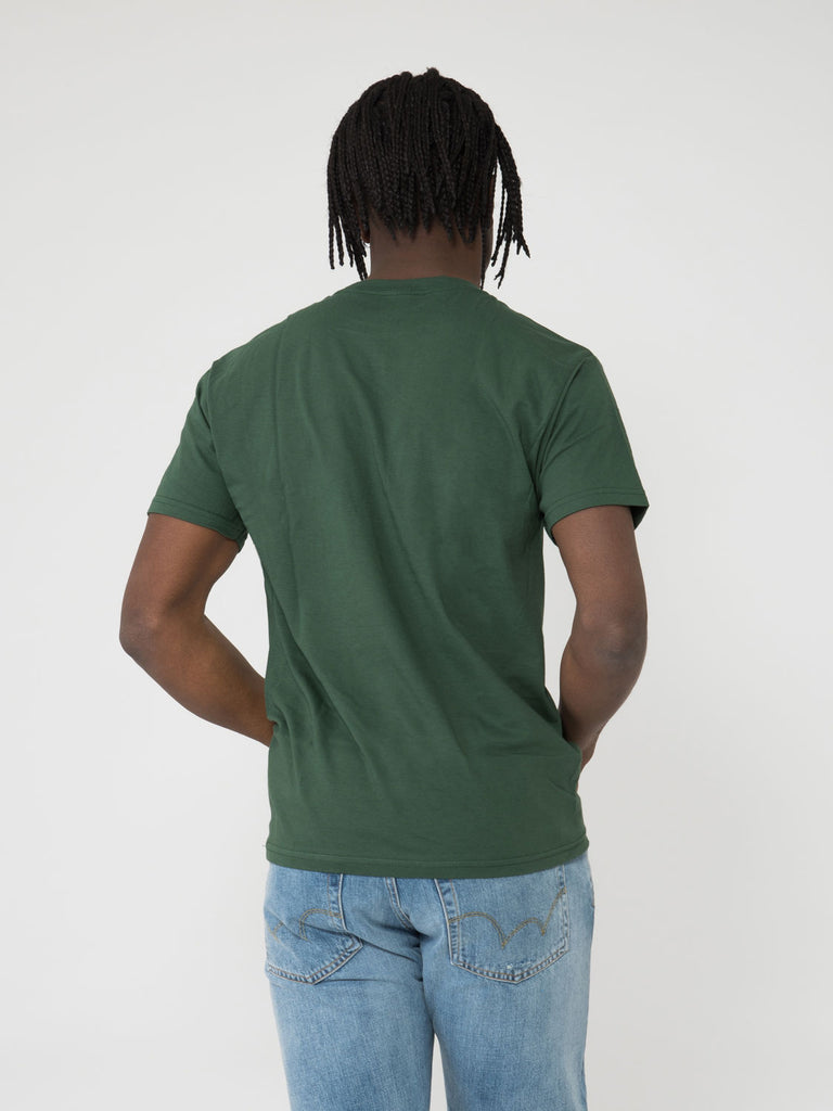 OBEY - T-shirt Obey Global forest green
