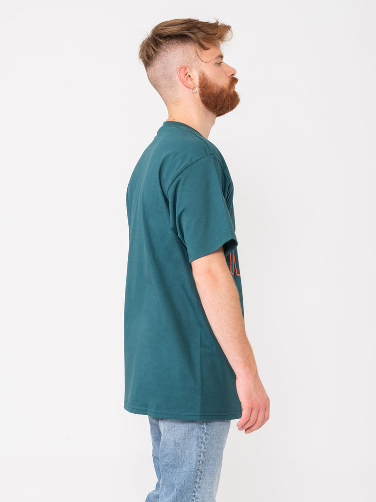 OBEY - T-shirt Worldwide Line pine