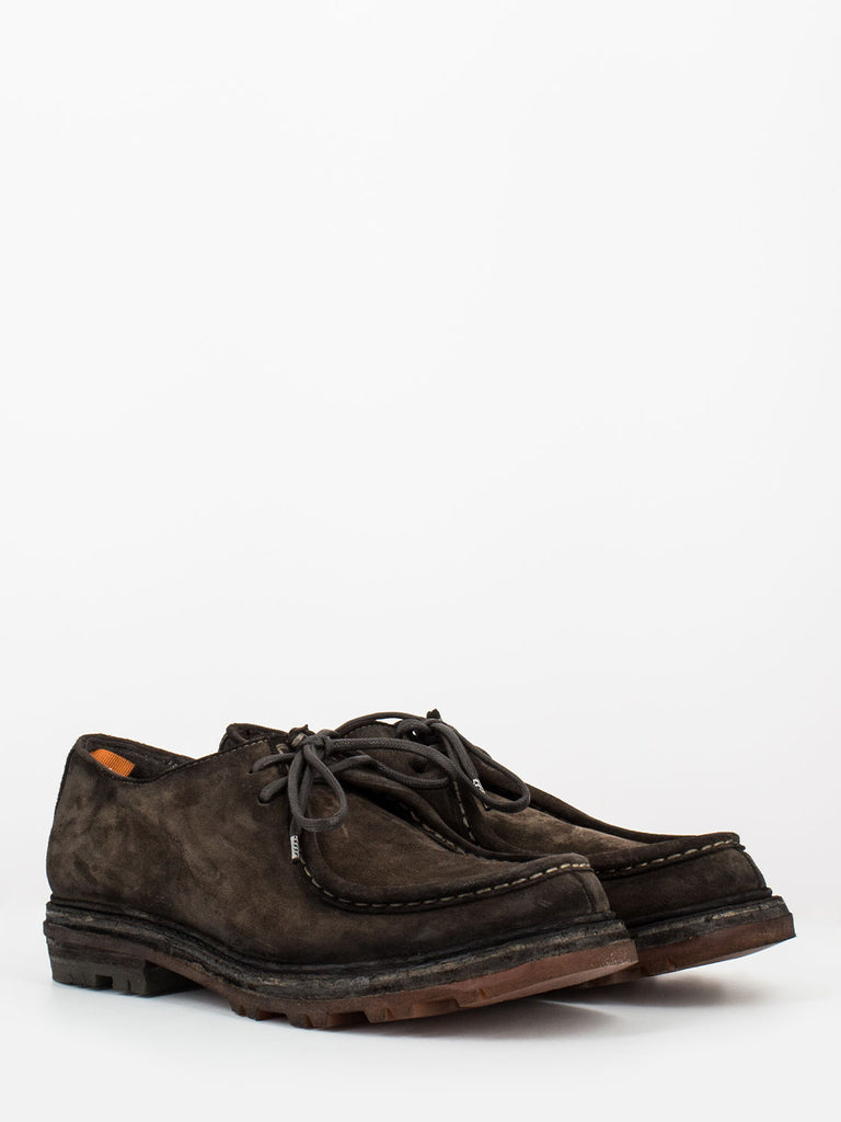 OPEN CLOSED - Scarpe garry kore crust ebano