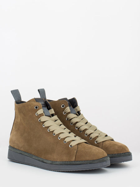 P01 Mid Cut in suede date / rock