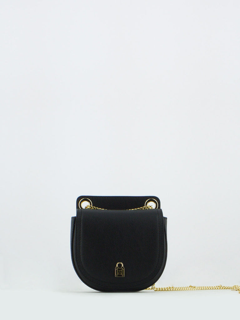 save off d337c fe444 Borsa mini in pelle nera