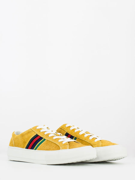 Antilla in suede giallo / multicolor