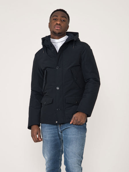 Parka short ebony blu