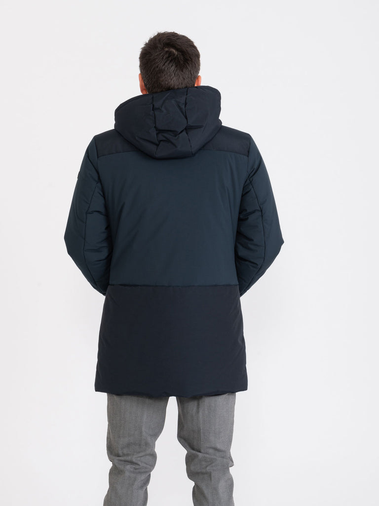 PENN RICH - Poly Parka blu scuro