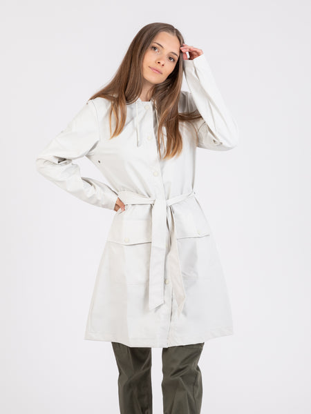 Trench Belt Jacket off white