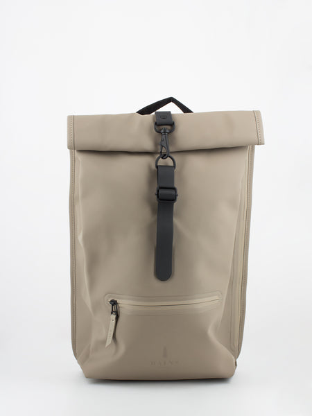 Zaino Rolltop impermeabile taupe