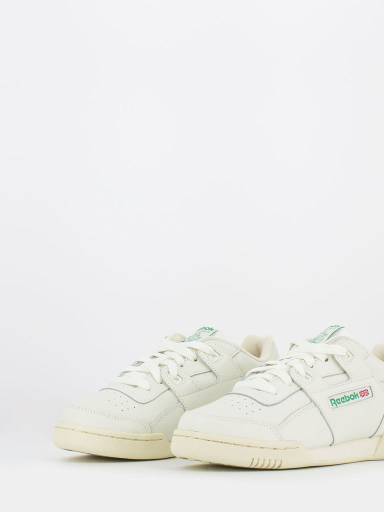 REEBOK - Workout low plus gesso / verde