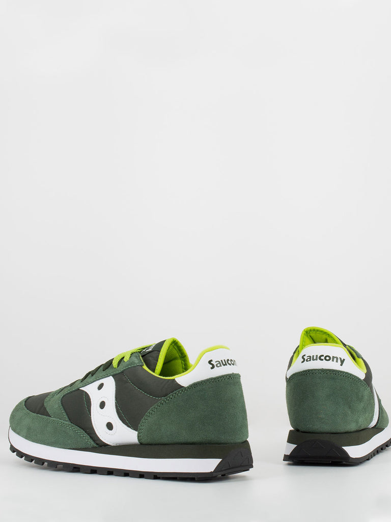 SAUCONY - Jazz original verde scuro / bianco / lime