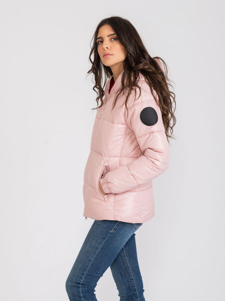 Piumino Luck9 blush pink